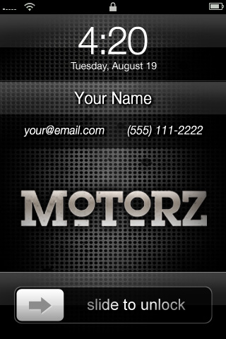 motorz-iphone-start-screen