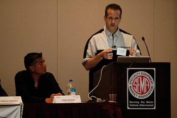 chris duke sema internet symposium podium