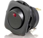 Rocker Switch with Red LED