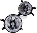 Mustang Halo Fog Lights (05-09 GT)