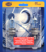 Hella Xenon Blue Halogen Bulbs
