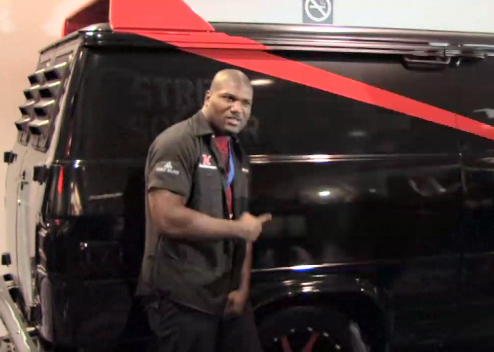 Duke Networks Produces Kelderman Rampage Jackson Video Motorz Tv