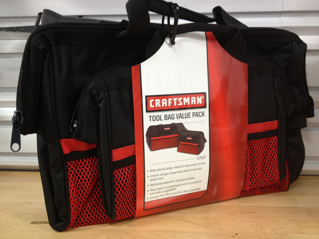 Holiday Tool Giveaway Spotlight Craftsman Bags