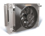 Flex-a-fit® Aluminum Radiator/Fan Combo