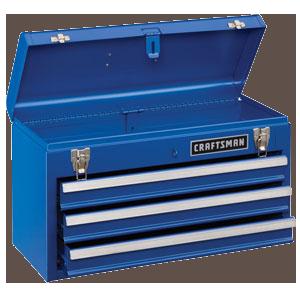 Craftsman-3-Drawer-Metal-Portable-Chest-Chrome-Blue