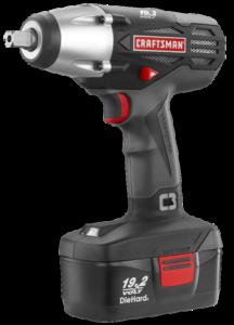 Craftsman C3 19.2-Volt Cordless 1/2'' Wrench Kit