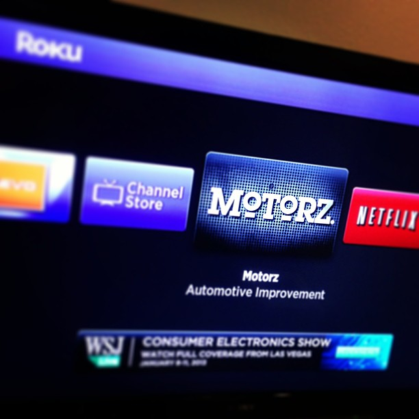 motorz roku channel
