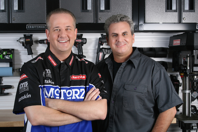 Chris Duke with Alan Taylor of Motorz TV-640