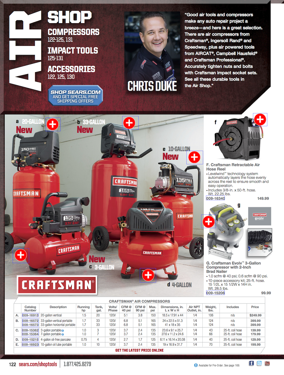 The Sears Tool catalog has a handy collection of Sears Craftsman tools from hand tools to power tools and more - featured at pleastokealpa.ml
