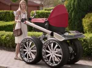 Man Up With This Mega Manly Stroller Motorz Tv