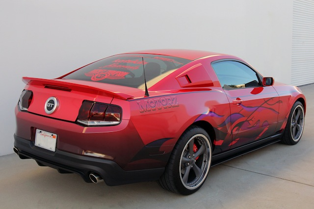 Motorz 2010 Ford Mustang Featured SEMA Project Vehicle