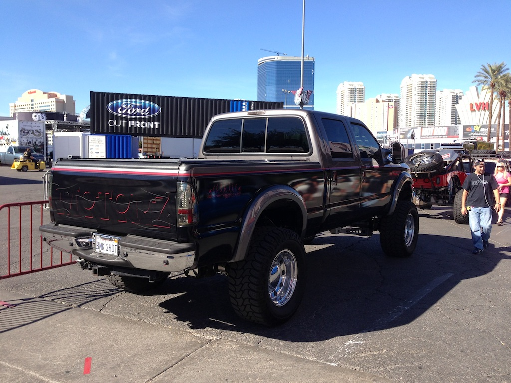 2006 Ford F 250 Project Vehicle Motorz Tv Super Duty Sema 2012