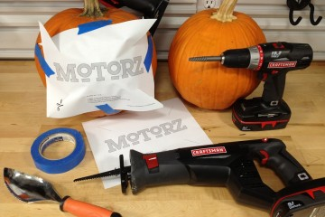motorz pumpkin carving template