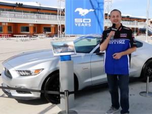 Chris Duke at the Las Vegas Motor Speedway