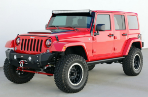 Motorz 2014 Jeep Wrangler SEMA Project Vehicle