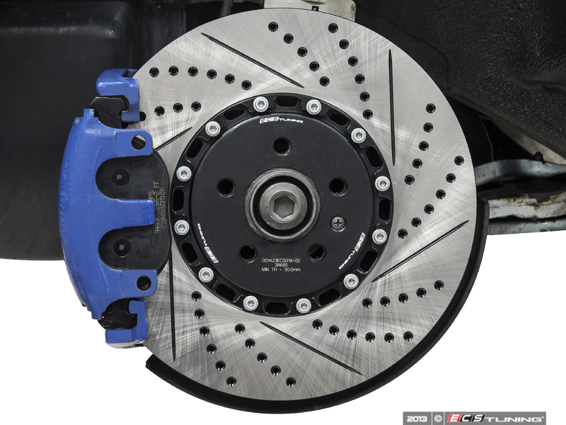 ECS Tuning Cross Drilled Rotor