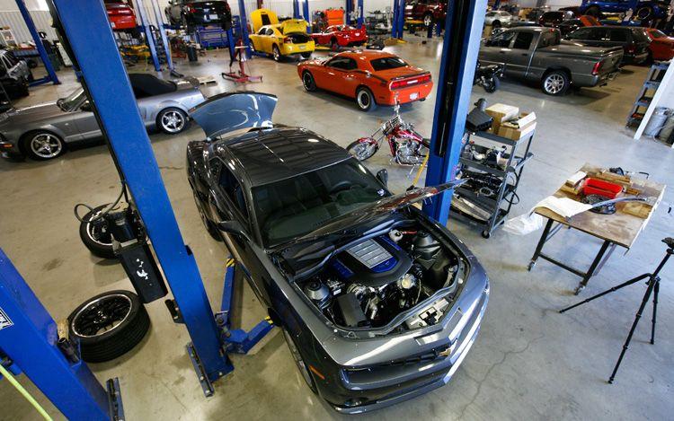 Garage - Motor Trend